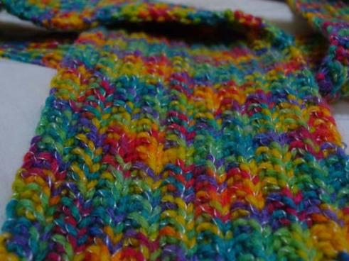 scrunchable scarf